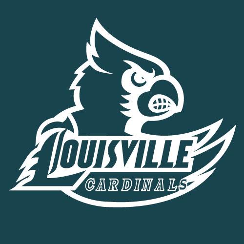 UL UNIVERSITY OF LOUISVILLE Cardinals Large Logo Decal
